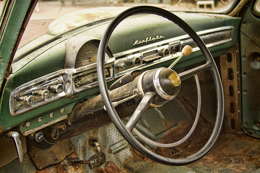 1951 Nash Ambassador Interior Photograph
