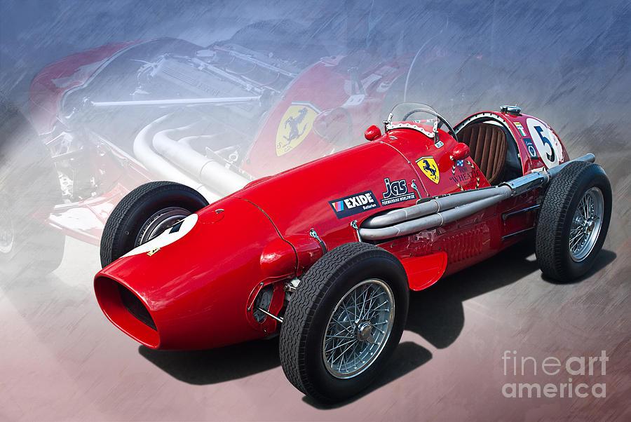 1952 Ferrari Tipo 500 Photograph By Stuart Row