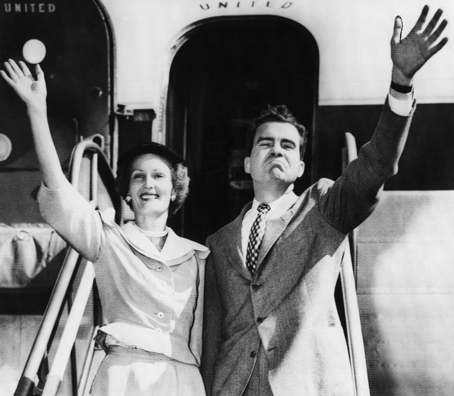 1952 Presidential Campaign.  Patricia Photograph