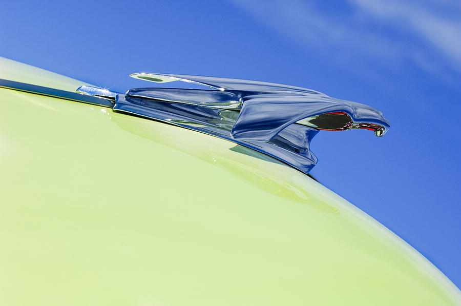1953 Chevrolet Pickup Hood Ornament Photograph