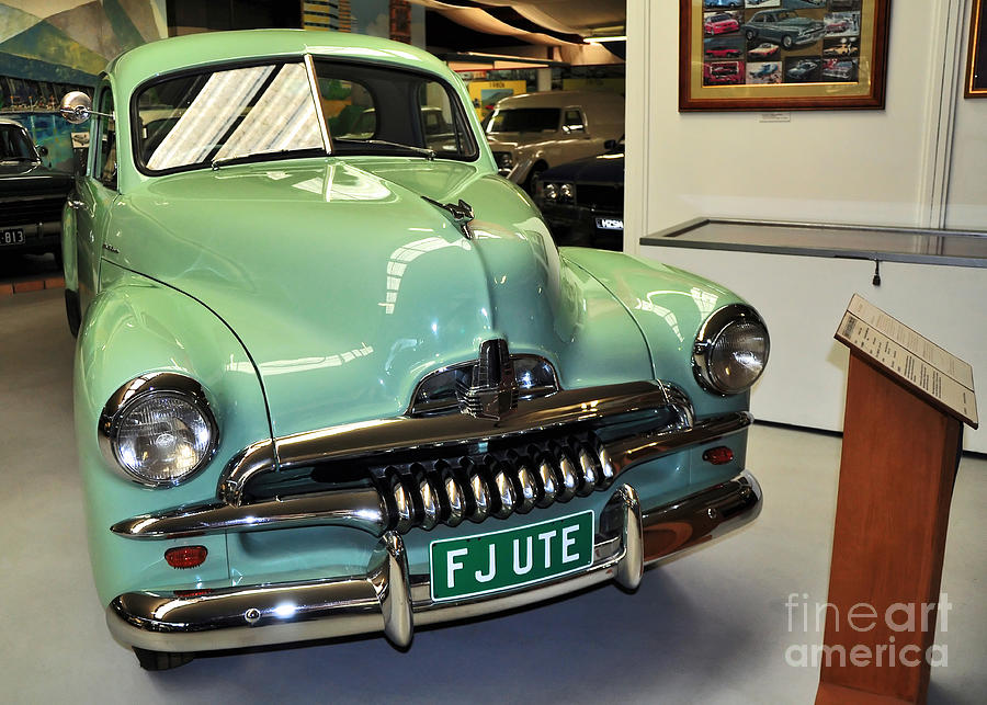 1953 Fj Holden Ute Photograph