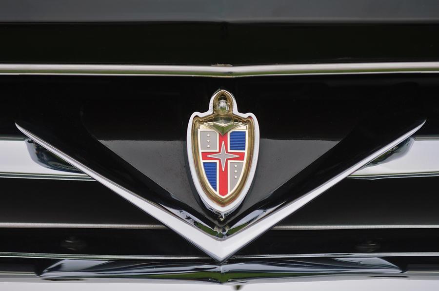 1953 Lincoln Capri Derham Coupe Emblem Photograph
