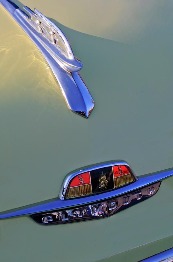 1953 Plymouth Hood Ornament Photograph