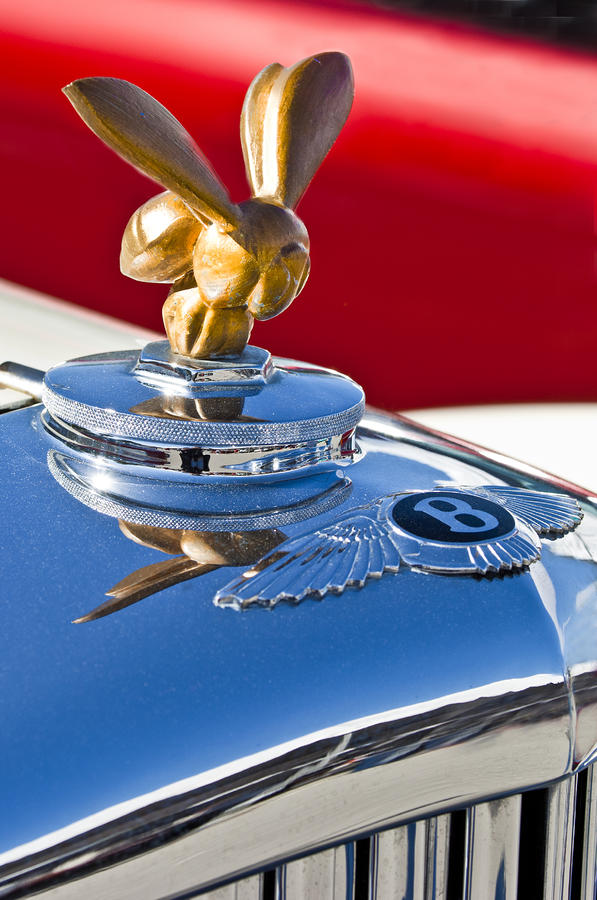 1954 Bentley One Of A Kind Hood Ornament Photograph