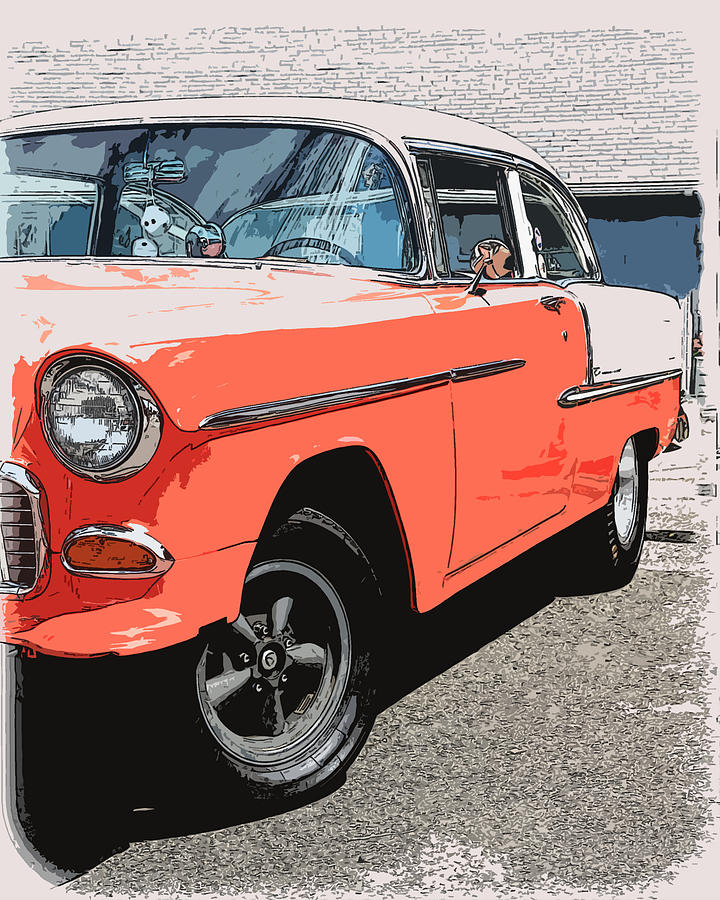 1955 Chevy Photograph