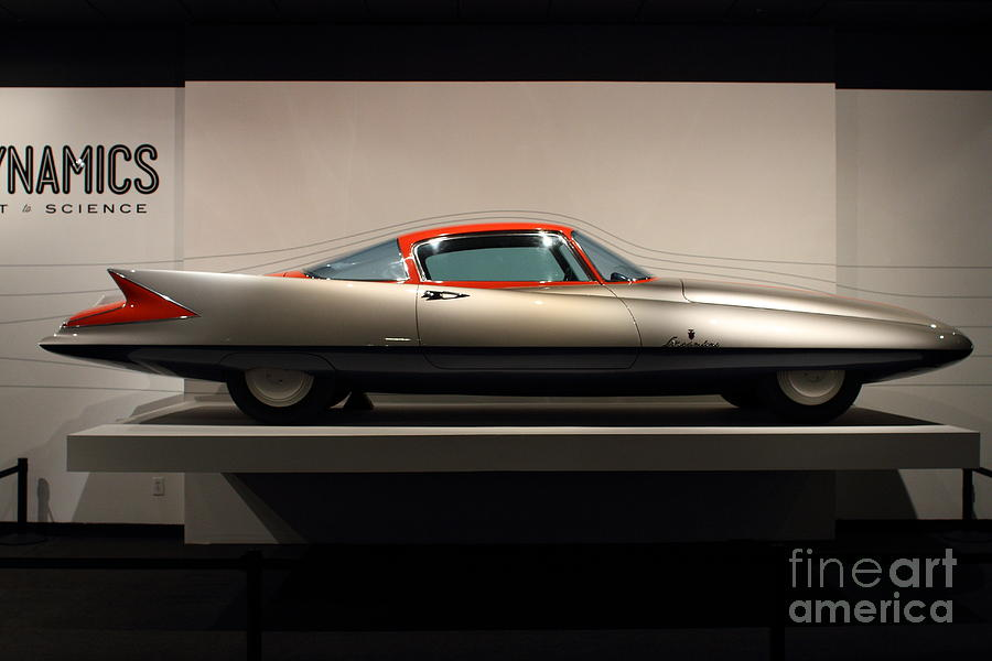 1955 Ghia Streamline X Gilda Concept Car - 7d17260 Photograph