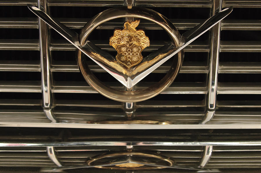 1955 Packard Hood Ornament Emblem Photograph  - 1955 Packard Hood Ornament Emblem Fine Art Print