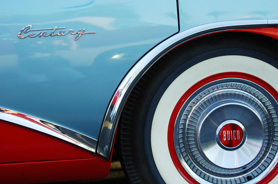 1956 Buick Century Wheel Photograph