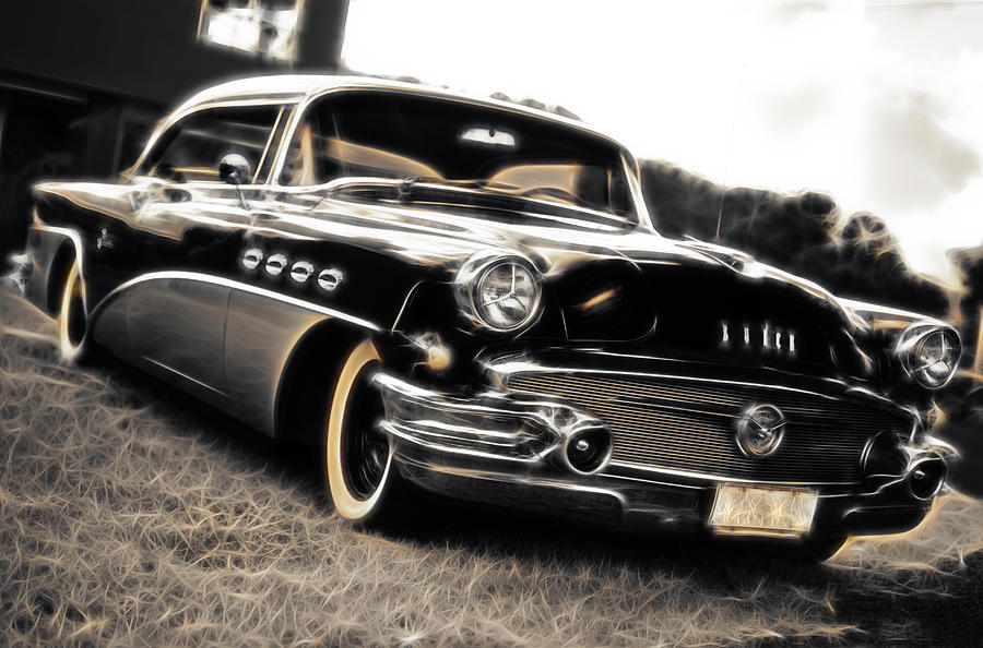 1956 Buick Super Series 50 Photograph  - 1956 Buick Super Series 50 Fine Art Print