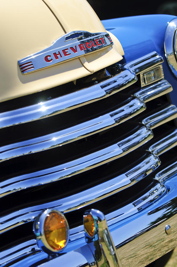 1946 Chevy Truck Grill Decal Autos Post