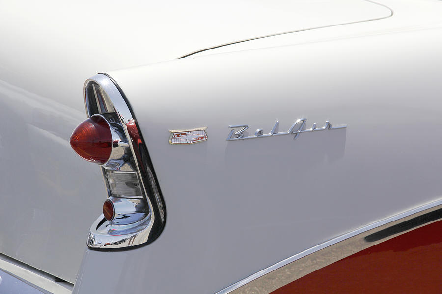 1956 Chevy Belair Photograph  - 1956 Chevy Belair Fine Art Print