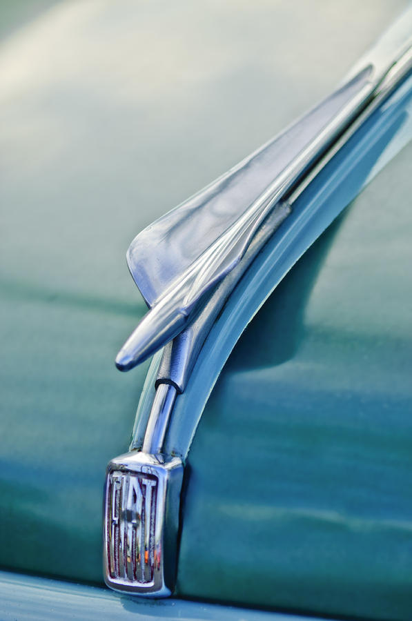 1956 Fiat Hood Ornament 2 Photograph