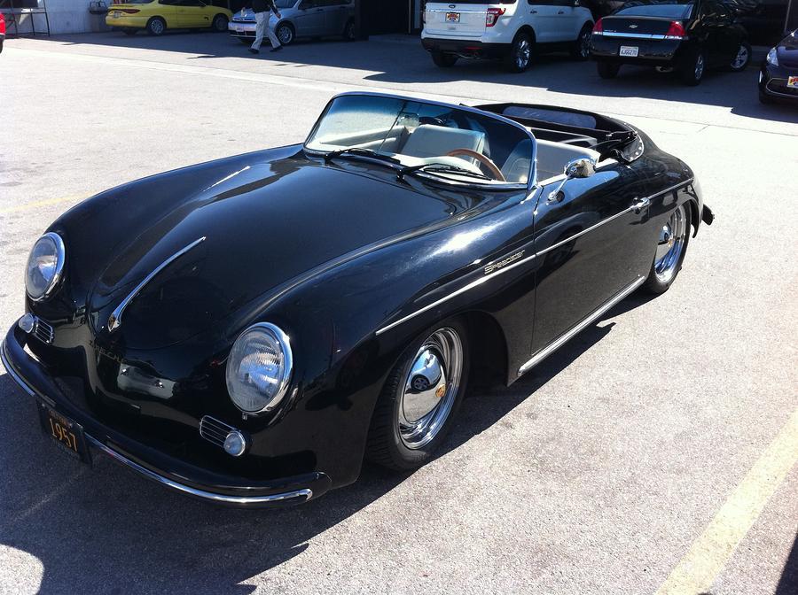 1956 Porsche Speedster Photograph By Franklin Hanna