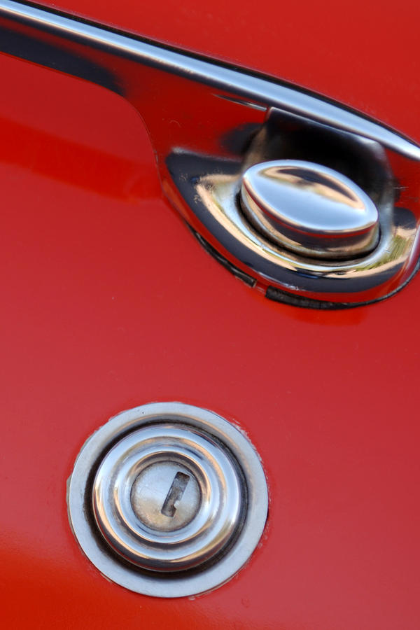 1957 Chevrolet Corvette Convertible Door Handle Photograph