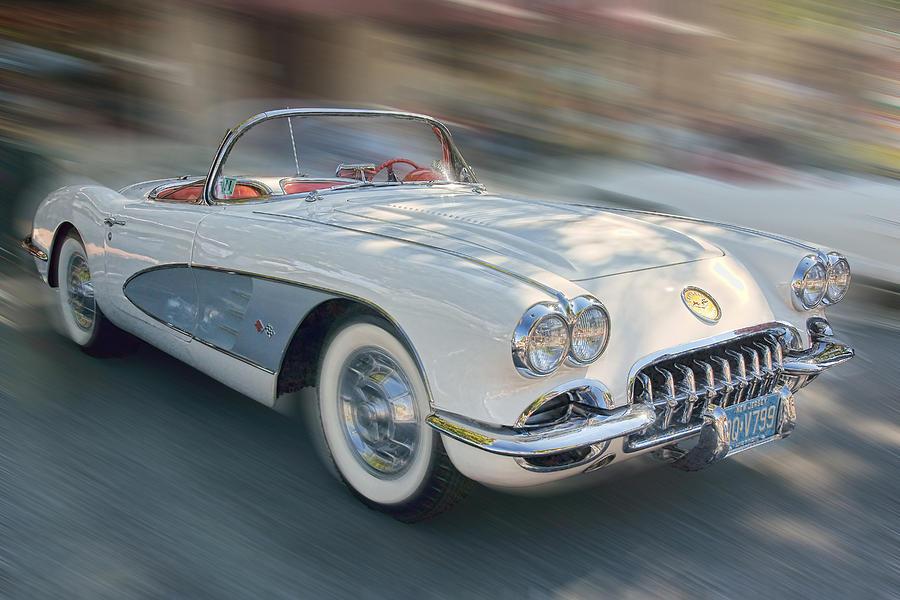 1958 Corvette Photograph