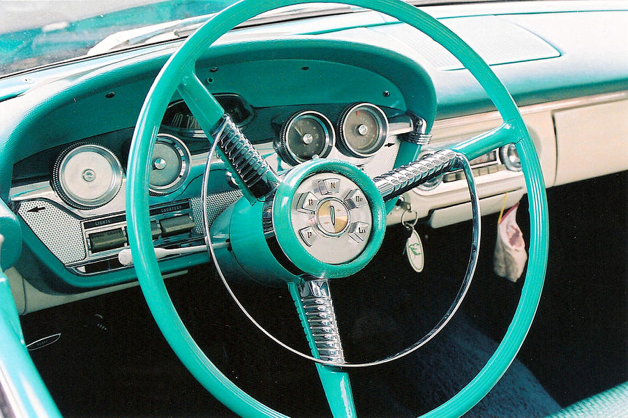 1958 Edsel Pacer Dash By Lauri Novak