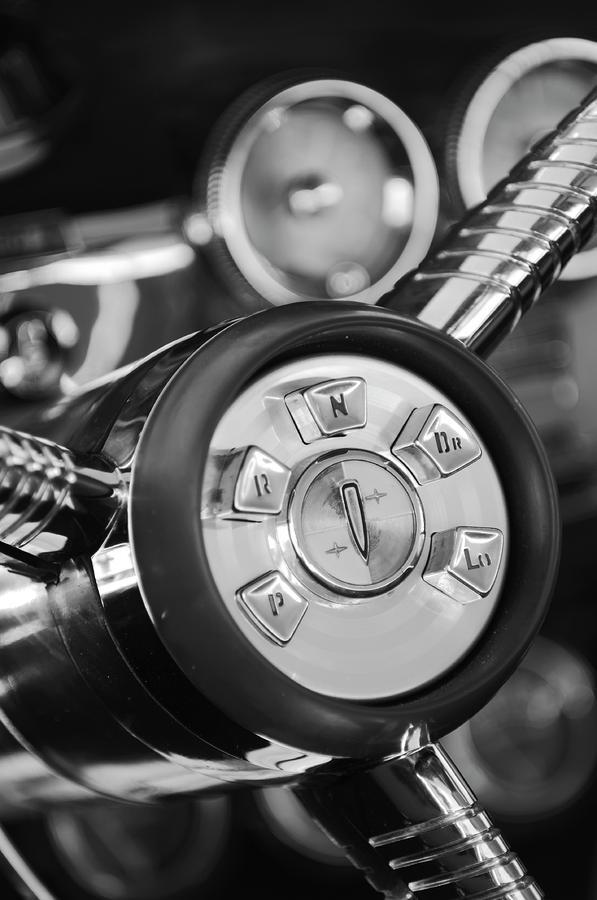 1958 Edsel Ranger Push Button Transmission 2 Photograph