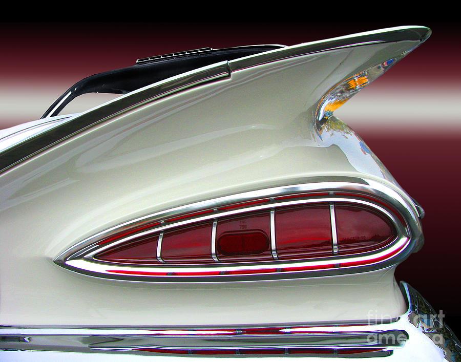1959 Chevrolet Impala Tail Photograph