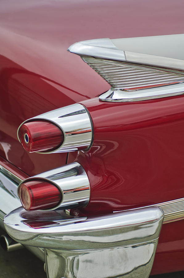 1959 Dodge Custom Royal Super D 500 Taillight Photograph