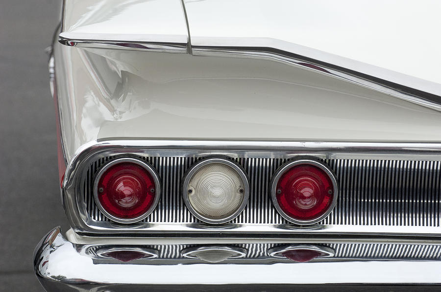 1960 Chevrolet Impala Tail Lights Photograph  - 1960 Chevrolet Impala Tail Lights Fine Art Print
