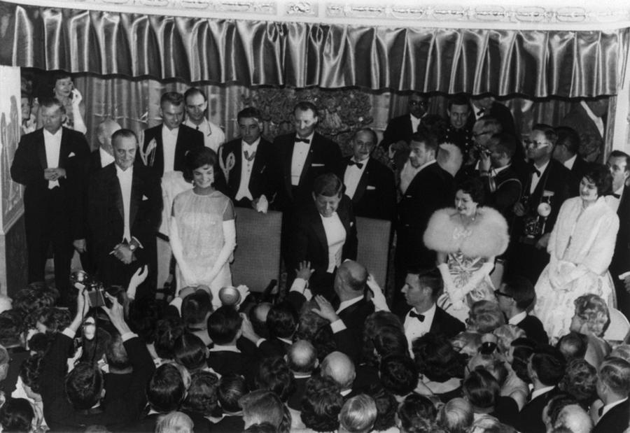 1960 Inaugural Ball. President Kennedy Photograph