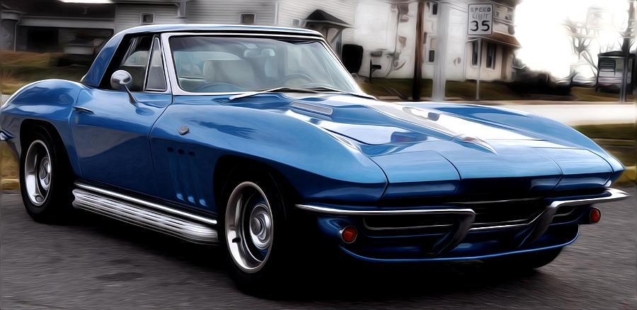 1963 Corvette Photograph By Bill Cannon