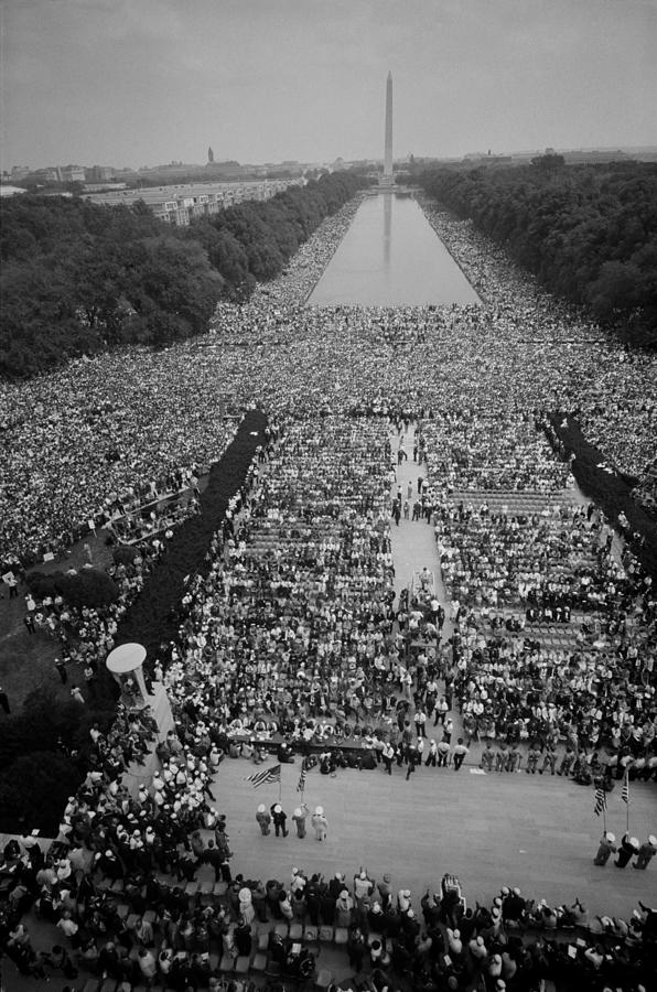 1963 March On Washington, At The Height Photograph