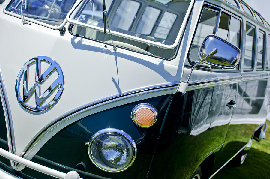 1966 Volkswagen Vw Microbus Photograph by Jill Reger - 1966 ...