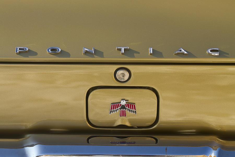 1967 Bronze Pontiac Firebird Back Emblem Photograph by ...