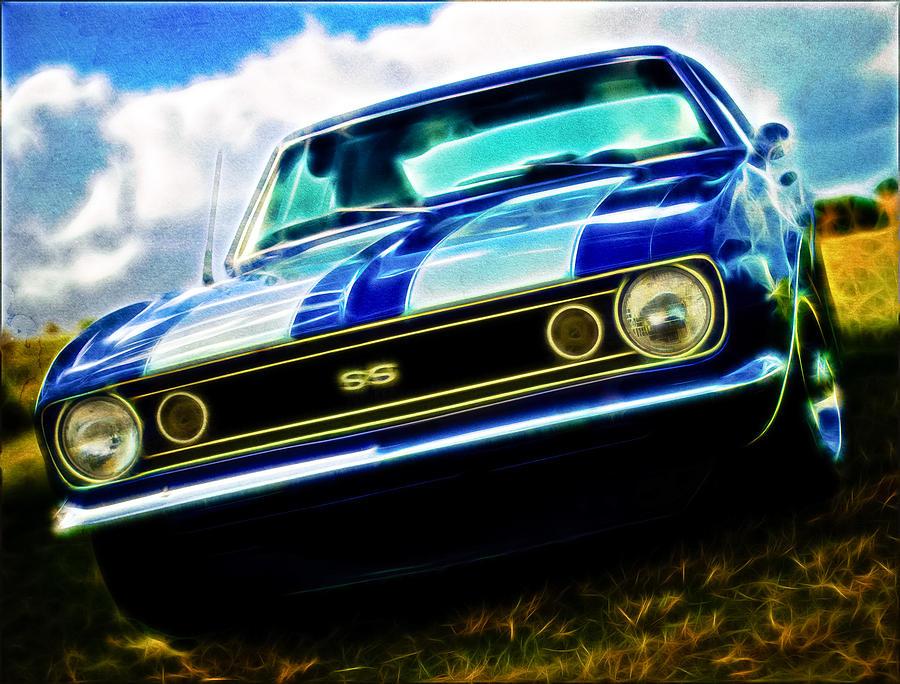 1967 Chevrolet Camaro Ss Photograph