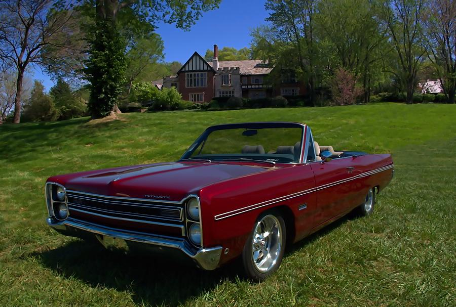 1967 Plymouth Fury Iii Convertible Photograph By Tim