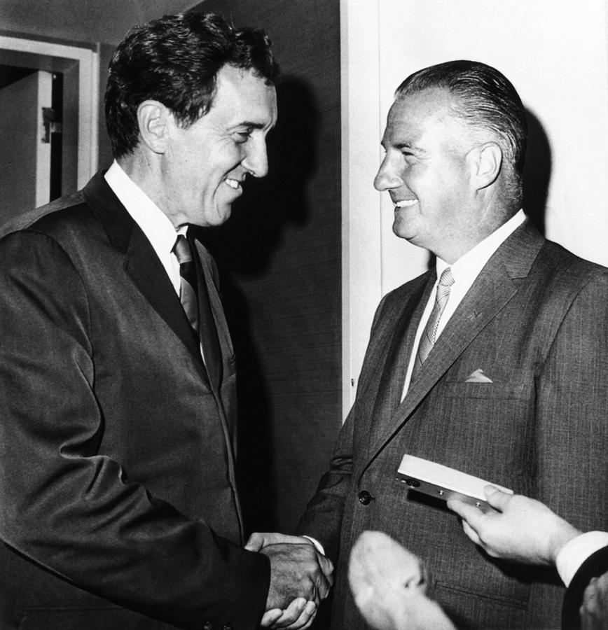 1968 Republican And Democratic Vice Photograph  - 1968 Republican And Democratic Vice Fine Art Print