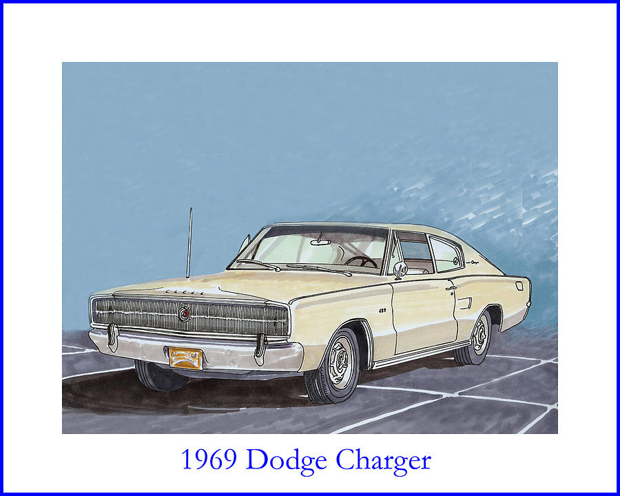 1969 dodge charger painting