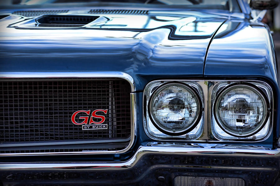 1970 Buick Gs 455 Photograph  - 1970 Buick Gs 455 Fine Art Print