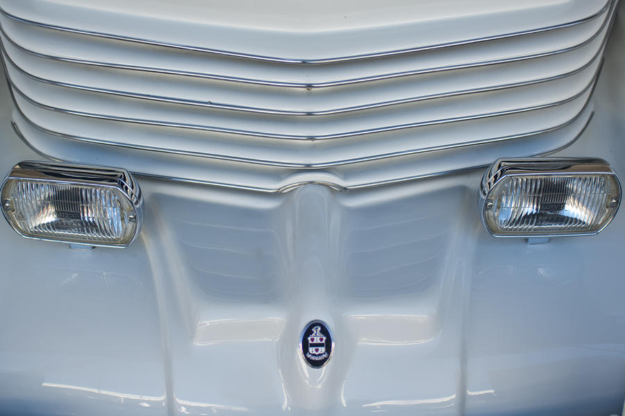 1970 Cord Royale Grille Hood Ornament Photograph