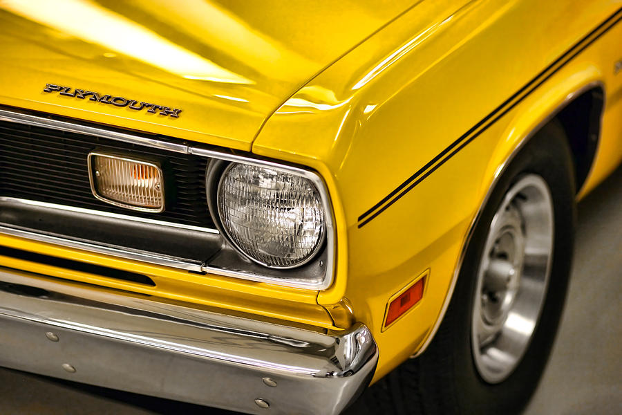 1970 Plymouth Duster 340 Photograph  - 1970 Plymouth Duster 340 Fine Art Print