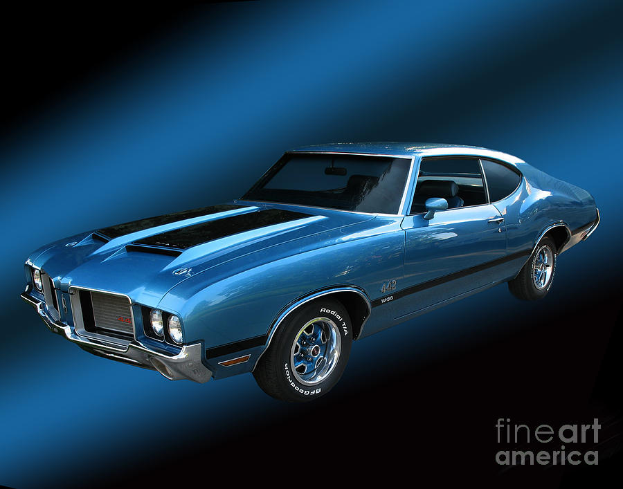 1972 Olds 442 Photograph  - 1972 Olds 442 Fine Art Print