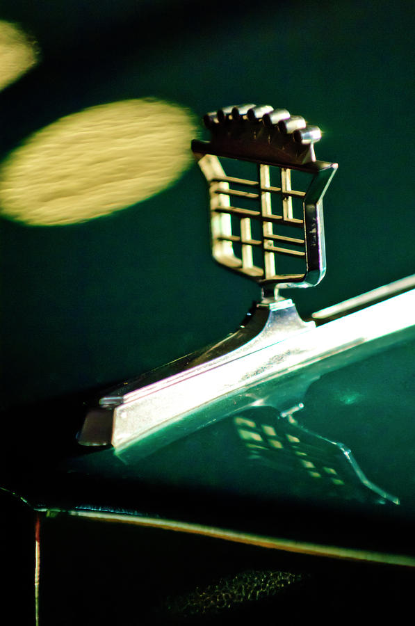 1976 Cadillac Fleetwood Hood Ornament Photograph