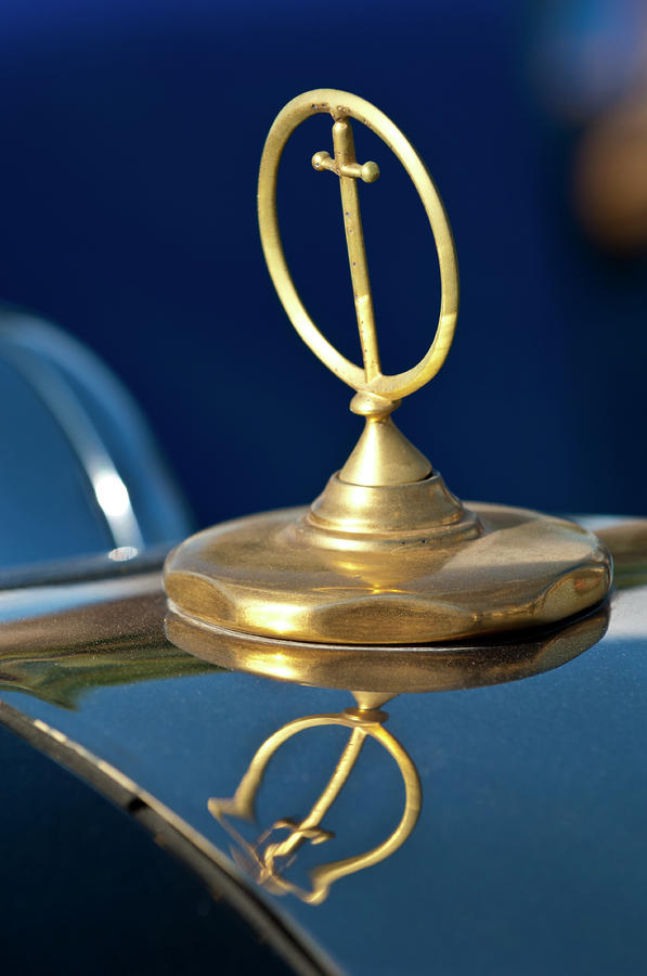 1984 Excalibur Roadster Hood Ornament Photograph