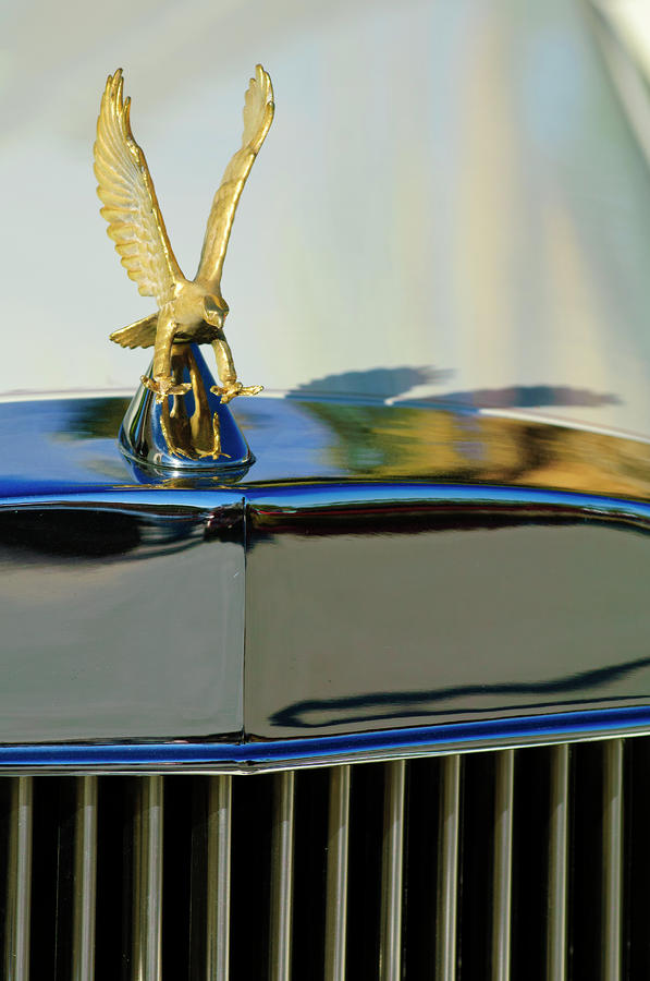 1986 Zimmer Golden Spirit Hood Ornament 2 Photograph