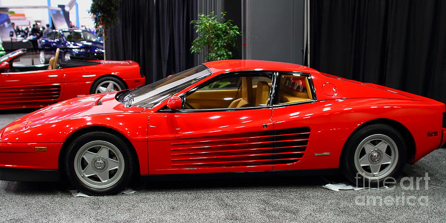 1987 Ferrari Testarossa . 7d9399 Photograph  - 1987 Ferrari Testarossa . 7d9399 Fine Art Print