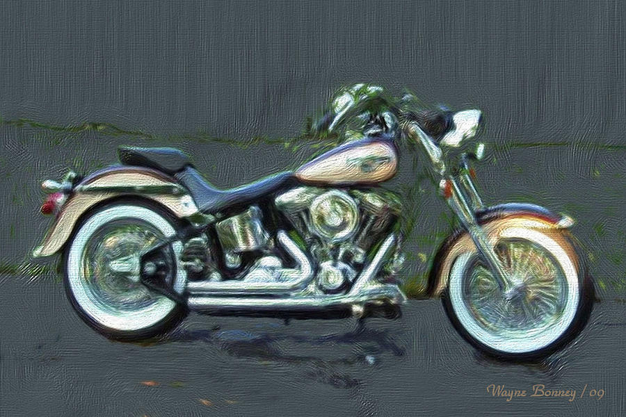 1998 Anniversary Edition Fatboy Painting