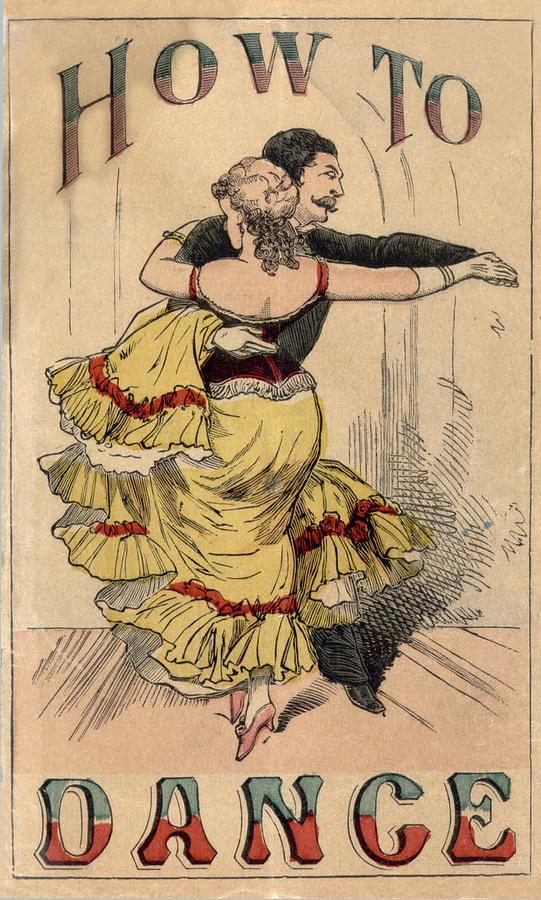 19th Century Dance Manual, How Photograph  - 19th Century Dance Manual, How Fine Art Print