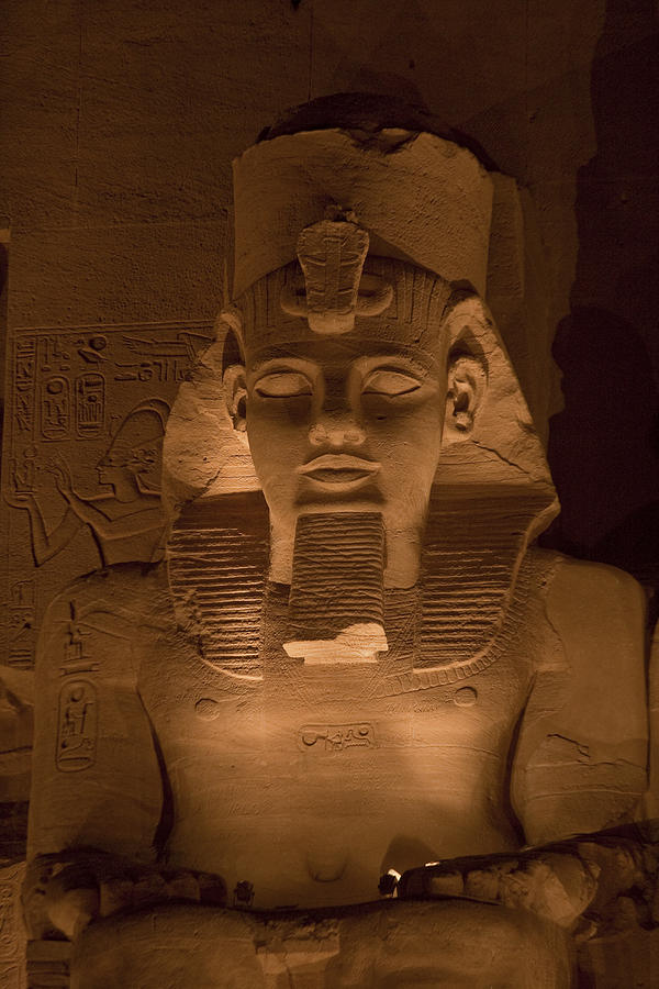 A Close View Of Ramses IIs Temple Photograph