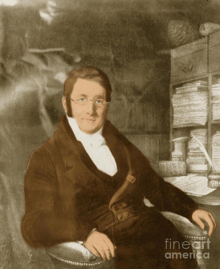 Augustin Pyrame De Candolle Photograph - A. P. De Candolle, Swiss Botanist by Science Source