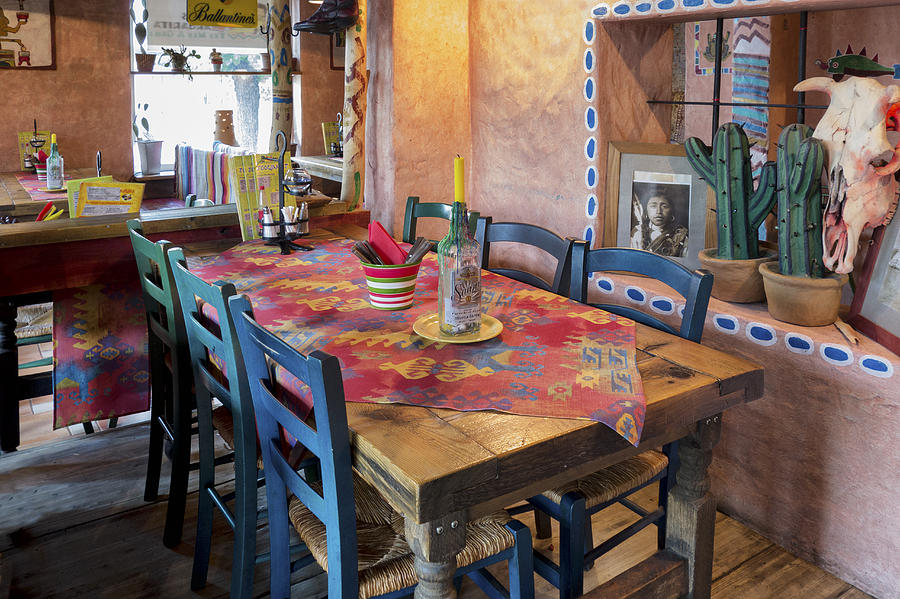 Latin American And Hispanic Ethnicity Photograph - A Tex Mex Restaurant In The Town by Jaak Nilson