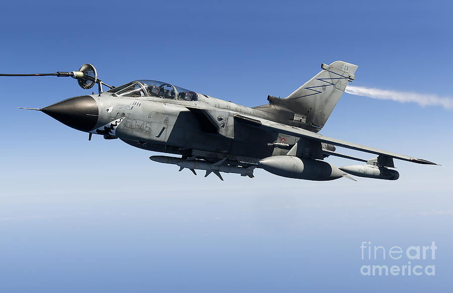An Italian Air Force Tornado Ids Photograph