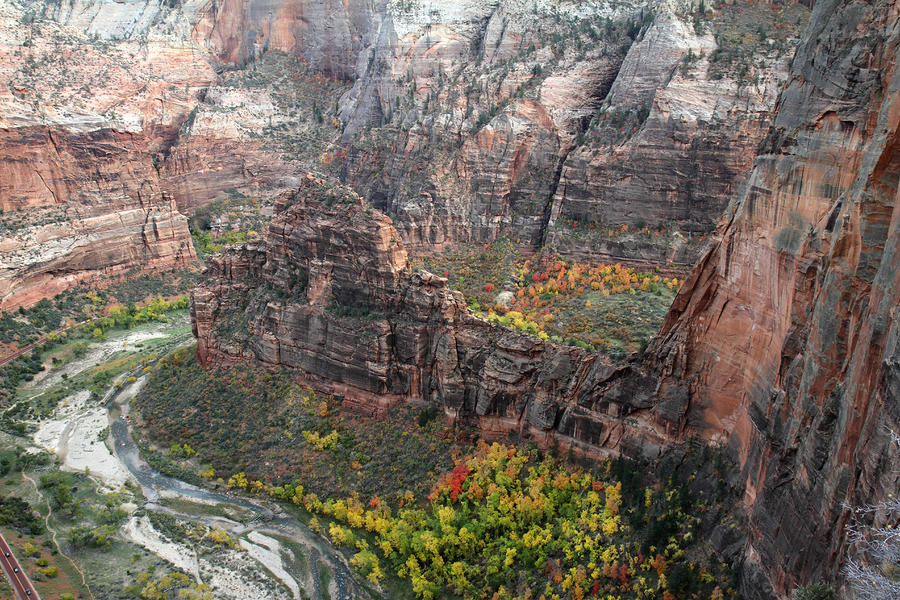 Angels Landing In Zion Photograph  - Angels Landing In Zion Fine Art Print