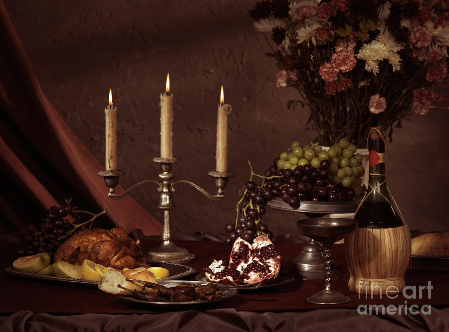 Artistic Food Still Life Photograph  - Artistic Food Still Life Fine Art Print