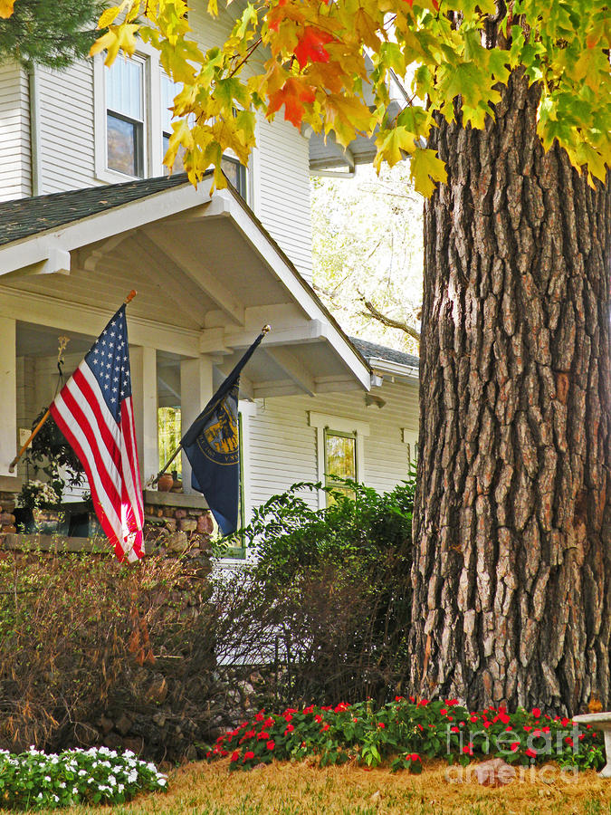 Autumn In Small Town America Photograph